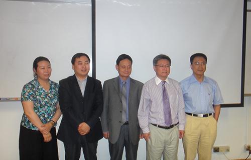 2研究院有关领导在香港大学访学交流