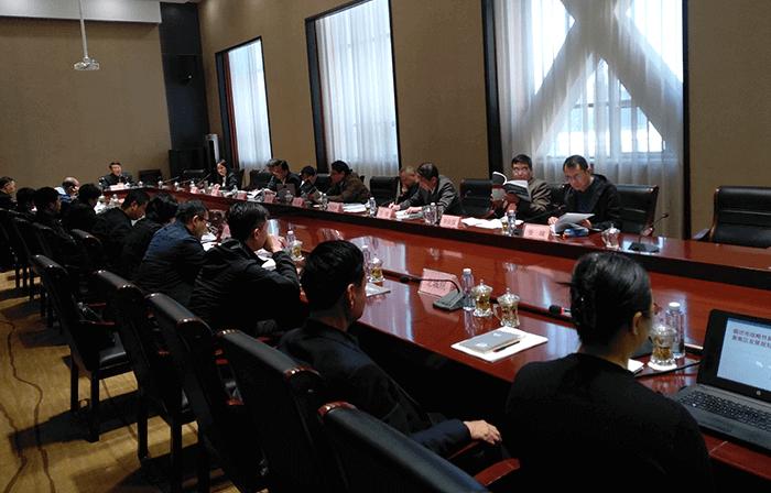 廊坊市新兴产业区规划专家会(2018.10.)